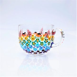 Hand Painted Glassware Collections